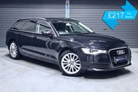 USED 2011 AUDI A6 2.0 TDI AVANT SE **BLACK WITH BLACK LEATHER** ** FULL BLACK LEATHER, EXCELLENT CONDITION, ESTATE **
