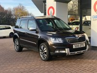 USED 2015 15 SKODA YETI 2.0 OUTDOOR LAURIN AND KLEMENT TDI DSG SCR 5d 148 BHP SAT NAV | LEATHER | BLUETOOTH