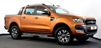 USED 2018 18 FORD RANGER 3.2 TDCi Wildtrak Double Cab Pickup 4dr Auto 4WD **NO VAT** Immaculate Example!