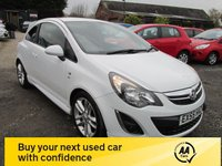 USED 2012 55 VAUXHALL CORSA 1.4 SRI 3d 98 BHP SIX SERVICES FULL SERVICE HISTORY