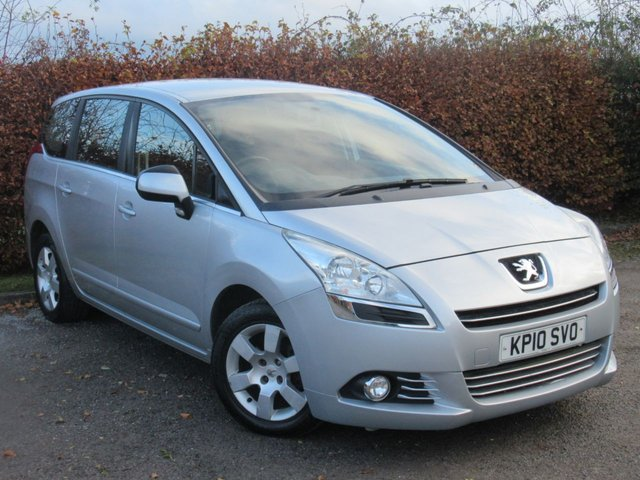 USED 2010 10 PEUGEOT 5008 1.6 HDI SPORT 5d  * 7 SEATER * ECONOMICAL 6 SPEED GEARBOX *