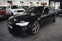 USED 2014 64 AUDI A6 2.0 AVANT TDI ULTRA BLACK EDITION 5d 188 BHP LOVELY CONDITION - BLACK EDITION - COMPREHENSIVE S/H - LEATHER - SAT NAV - POWERBOOT - SAT NAV