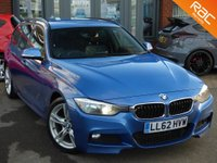 USED 2012 62 BMW 3 SERIES 2.0 320D M SPORT TOURING 5d 181 BHP