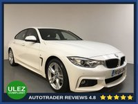 USED 2016 66 BMW 4 SERIES 2.0 420D M SPORT GRAN COUPE 4d 188 BHP FULL BMW HISTORY - 1 OWNER - SAT NAV - PARKING SENSORS - LEATHER - AIR CON - BLUETOOTH - DAB - CRUISE