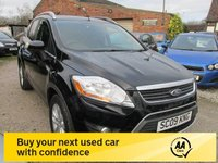 USED 2009 09 FORD KUGA 2.0 ZETEC TDCI 2WD 5d 134 BHP LOW MILEAGE SERVICE HISTORY DIESEL