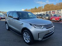 USED 2017 17 LAND ROVER DISCOVERY 3.0 SI6 HSE 5d 336 BHP 360 surround cameras, electric rear folding 7 seats, electric deployable towbar