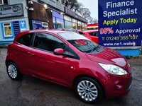 USED 2013 13 FORD KA 1.2 ZETEC 3d 69 BHP, only 42000 miles ***APPROVED DEALER FOR CAR FINANCE247 AND ZUTO ***