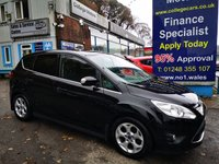 USED 2014 64 FORD C-MAX 1.0 ZETEC 5d 124 BHP, only 52000 miles ***APPROVED DEALER FOR CAR FINANCE247 AND ZUT0  ***