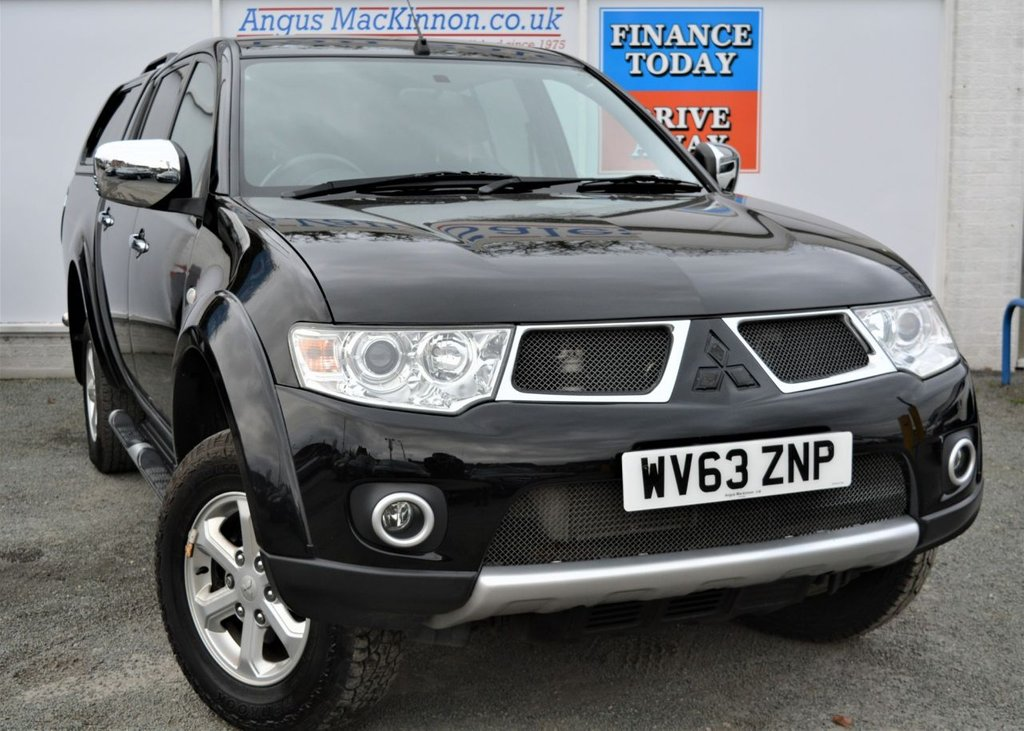 USED 2013 63 MITSUBISHI L200 2.5 DI-D 4X4 BARBARIAN 5 Seat Double Cab Lifestyle Pickup with NO VAT TO PAY SO YOU SAVE 20% Great High Spec Rear Canopy Load Liner Side Steps Recent Service and MOT now Ready To Finance and Drive Away Today 1 FORMER KEEPER