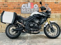 USED 2011 11 TRIUMPH TIGER 800 ABS  Scorpion Red Power Exhaust