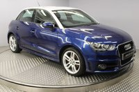 USED 2013 13 AUDI A1 1.4 SPORTBACK TFSI S LINE 5d 122 BHP