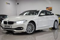USED 2015 15 BMW 4 SERIES 2.0 420D LUXURY GRAN COUPE 4d 181 BHP STUNNING BMW 4 SERIES + FSH! MUST BE SEEN!