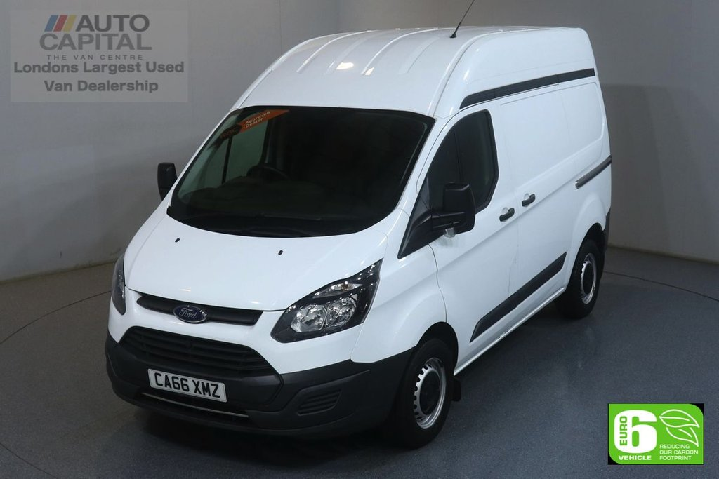 USED 2017 66 FORD TRANSIT CUSTOM 2.0 270 L1 H2 104 BHP EURO 6 ENGINE ONE OWNER FROM NEW
