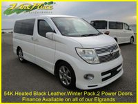 USED 2009 09 NISSAN ELGRAND Highway Star Black Leather Urban Edition 2.5 Auto 8 Seats +54K+FULL HEATED LEATHER+