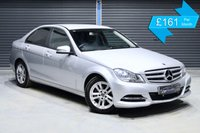 USED 2012 62 MERCEDES-BENZ C-CLASS C180 BLUEEFFICIENCY EXECUTIVE SE  ** HIGH SPEC EXECUTIVE MODEL, BLACK LEATHER INTERIOR **