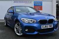 USED 2015 65 BMW 1 SERIES 120D M SPORT INCREDIBLY LOW MILEAGE