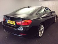 USED 2015 15 BMW 4 SERIES 2.0 420D SE 2d 188 BHP SAT NAV - LEATHER - STUNNING