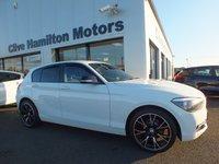 USED 2015 BMW 1 SERIES 2.0 116D SPORT 5d 114 BHP BLACK MIRRORS & PRIVACY GLASS, SPORTS INTERIOR, 2 KEYS