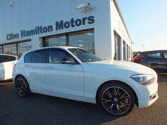 2015 BMW 1 SERIES 2.0 116D SPORT 5d 114 BHP BLACK MIRRORS & PRIVACY GLASS, SPORTS INTERIOR, 2 KEYS £9875.00