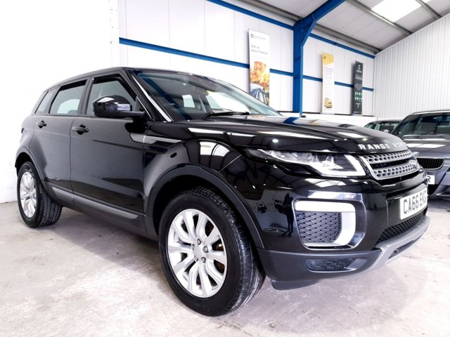 USED 2016 66 LAND ROVER RANGE ROVER EVOQUE 2.0 TD4 SE 5d 177 BHP