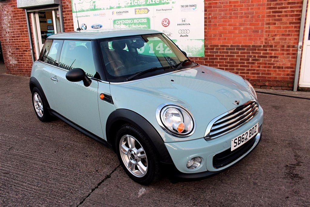 USED 2012 62 MINI HATCHBACK 1.6 One 3dr [Media Pack] +BLUETOOTH +SERVICED.