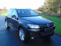 "USED 2011 61 VOLKSWAGEN TOUAREG 3.0 V6 ALTITUDE TDI BLUEMOTION TECHNOLOGY 5d 202 BHP SAT NAV, LEATHER, 20"" ALLOYS"