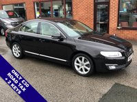 """USED 2015 65 VOLVO S80 2.0 D4 SE LUX 4DOOR 178 BHP ONLY £30 Road Tax   :   DAB Radio   :   Satellite Navigation   :   USB & AUX Sockets       Cruise Control   :   Phone Bluetooth Connectivity   :   Climate Control / Air Conditioning       Heated Front Seats   :   Electric Driver Seat   :   Rear Parking Sensors   :   17"""" Alloy Wheels       2 Keys   :   Comprehensive Service History"""