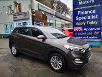 USED 2016 66 HYUNDAI TUCSON 1.7 CRDI SE NAV BLUE DRIVE 5d 139 BHP, only 35000 miles, Automatic ***APPROVED DEALER FOR CAR FINANCE247 AND ZUTO  ***