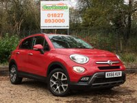 USED 2016 66 FIAT 500X 1.6 MULTIJET CROSS 5dr Sat Nav, £20 Tax, Leather