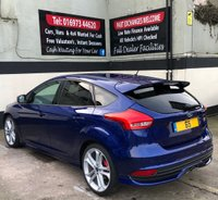 "USED 2015 65 FORD FOCUS ST-3 2.0 TDCI 5DR 185 BHP, SAT NAV, LOW MILEAGE REVERSE CAMERA/SENSORS, DOOR PROTECTORS, 19"" ALLOYS"