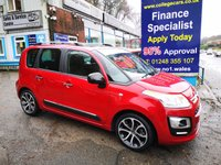 USED 2016 66 CITROEN C3 PICASSO 1.6 BLUEHDI PLATINUM PICASSO 5d 98 BHP, only 5000 miles ***APPROVED DEALER FOR CAR FINANCE247 AND ZUTO ***