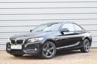 2014 BMW 2 SERIES 220D SPORT STEP COUP £10222.00