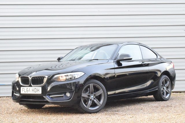 2014 64 BMW 2 SERIES 220D SPORT STEP COUP