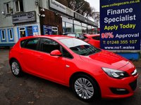 2013 VAUXHALL ASTRA 1.4 ENERGY 5d 98 BHP, only 58000 miles £4995.00