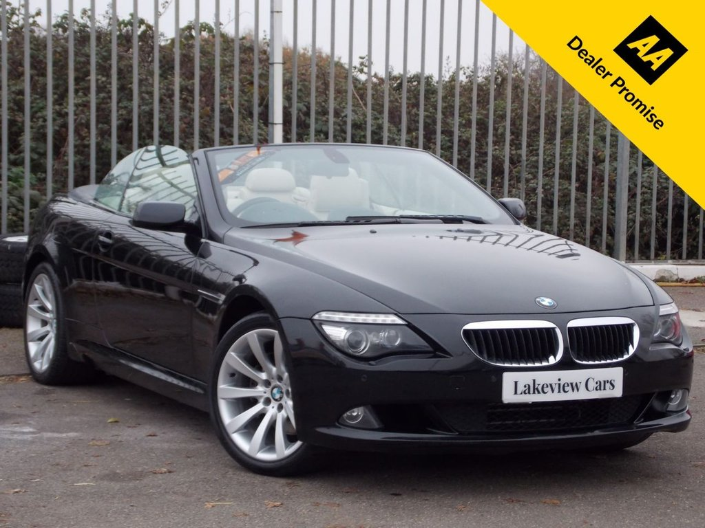 USED 2008 08 BMW 6 SERIES 3.0 630I SPORT 2d 269 BHP