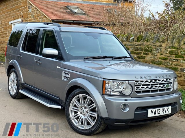 2012 12 LAND ROVER DISCOVERY 3.0 4 SDV6 HSE 5d 255 BHP