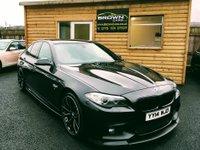 2014 BMW 5 SERIES 2.0 520D M SPORT 4d 181 BHP £14500.00