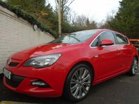 USED 2012 12 VAUXHALL ASTRA 1.6 SRI VX-LINE 5d 113 BHP GUARANTEED TO BEAT ANY 'WE BUY ANY CAR' VALUATION ON YOUR PART EXCHANGE