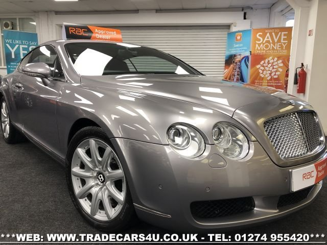 2004 M BENTLEY CONTINENTAL BENTLEY CONTINENTAL GT 6.0 W12 TWIN TURBO AUTO COUPE