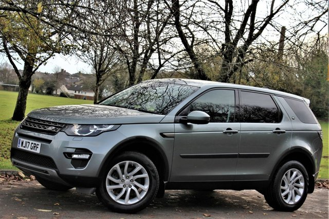 2017 17 LAND ROVER DISCOVERY SPORT 2.0 TD4 SE TECH 5d 180 BHP