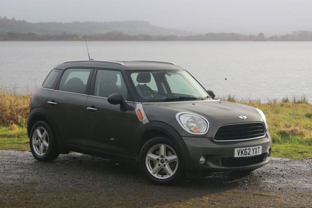 2012 62 MINI COUNTRYMAN 1.6 ONE D 5d 90 BHP