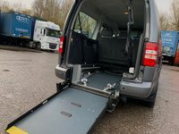 USED 2013 63 VOLKSWAGEN CADDY MAXI 1.6 TDI C20 Maxi Life Bus DSG 5dr (7 Seats) OverheadStorage/DSG/2Keys