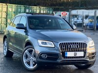 USED 2013 13 AUDI Q5 2.0 TDI S line Plus quattro (s/s) 5dr Nav/Bluetooth/Cruise/PanRoof