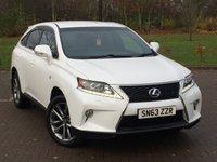 2013 LEXUS RX 3.5 450H F SPORT 5d 295 BHP £18795.00