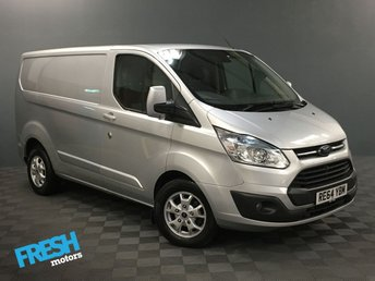 2014 FORD TRANSIT CUSTOM 2.2 270 LIMITED L1H1  £10000.00
