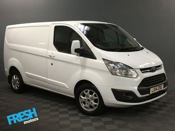 2014 FORD TRANSIT CUSTOM 2.2 270 LIMITED L1H1 153 BHP £11000.00
