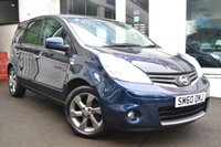 USED 2011 60 NISSAN NOTE 1.6 N-TEC AUTO 5d 110 BHP GREAT VALUE NISSAN NOTE AUTOMATIC
