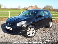 USED 2010 NISSAN QASHQAI 1.5 ACENTA DCI  5d 110 BHP ONLY 2 OWNERS FROM NEW