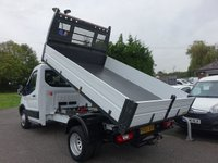 USED 2015 65 FORD TRANSIT 350 MWB DRW TIPPER Direct From Leasing Company With Full Service History! Popular Twin Double Rear Wheel & Ford One Stop Body, Very Clean Example!