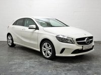 USED 2016 66 MERCEDES-BENZ A CLASS 1.5 A 180 D SPORT 5d 107 BHP REVERSE CAMERA + 4 SERVICES + FULL LEATHER + 1 OWNER